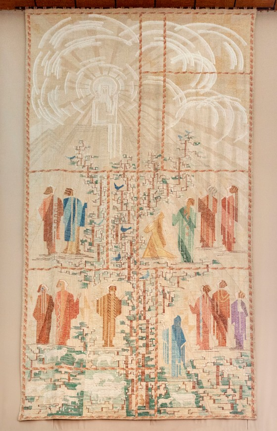 Sermon On The Mount Tapestry_004