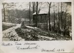 "Looking east over Cranbrook Road Gazebo by Albert Charpaize ""Rustic Tea House"""