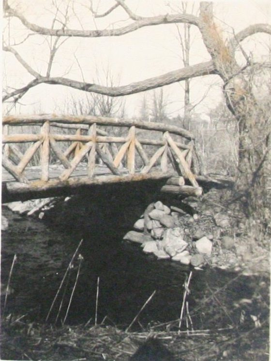 Bridge across Sunny Brook. Pleasures of Life Volume 2, Page 2