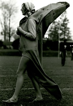Emma Kay Szabados was a big hit as the Academy's mascot banana.