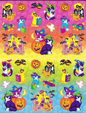 Lisa Frank Halloween Stickers Nicole Flickr