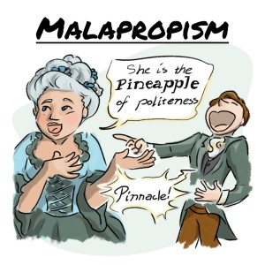 Malapropism from GRE Word of the Day
